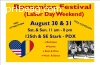 Romanian Festival (Labor day Weekend)